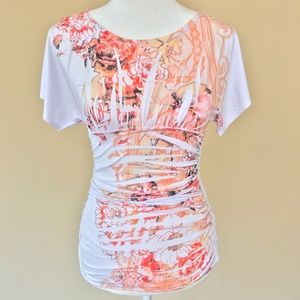 BCX Womens Top Blouse Size Small